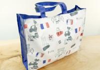 Paris themed tote bag