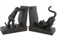 Cats bookends-set of 2