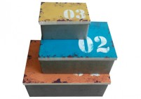 0123 tin box set