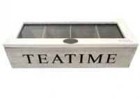 New wooden tea box – teatime