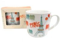 Paris illustration mug