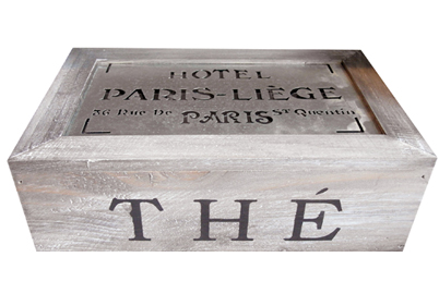 Hotel Paris Tea Box Even Amp Odd Modern Vintage Style
