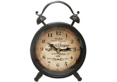 Cabernet Sauvignon Table Clock
