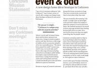 Corktowner - Even&Odd